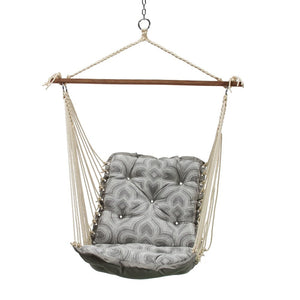 Carolina Tufted Swing with hardware (duracord synthetic rope)