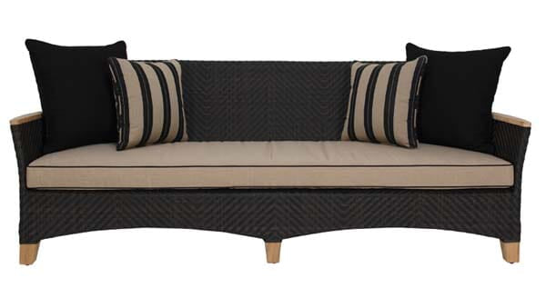 Zanzibar Sofa 3S, Java (Cushions Additional)