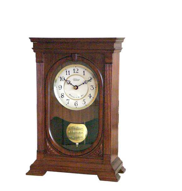 Telstar Wooden Quartz Mantle Clock
