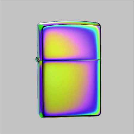 Zippo Multi Colour Logo Windproof Lighter