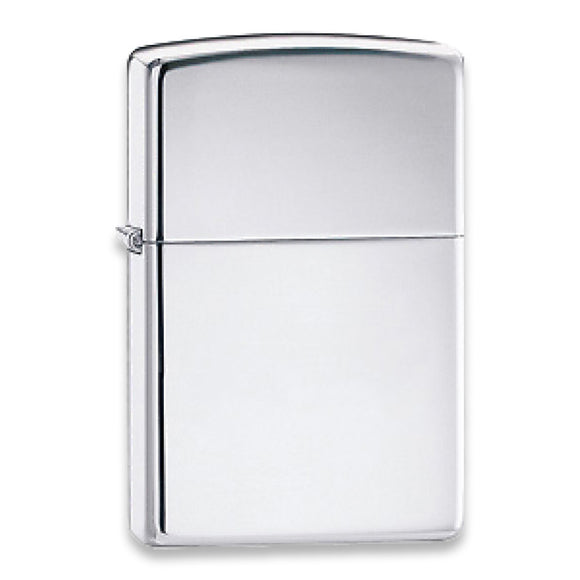 Zippo High Polished Chrome Windproof Lighter