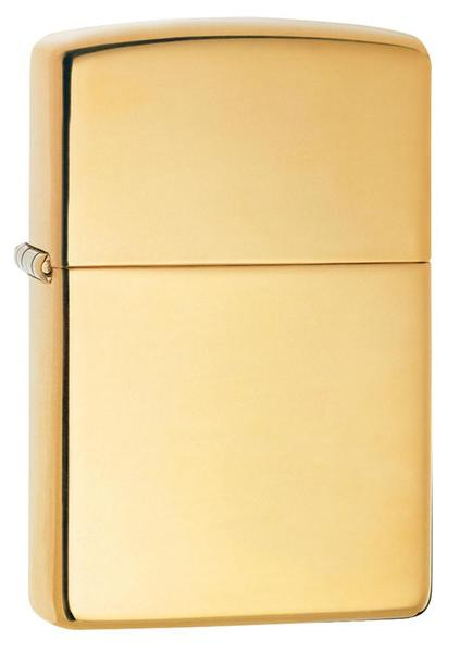 Zippo High Polish Brass Windproof Lighter