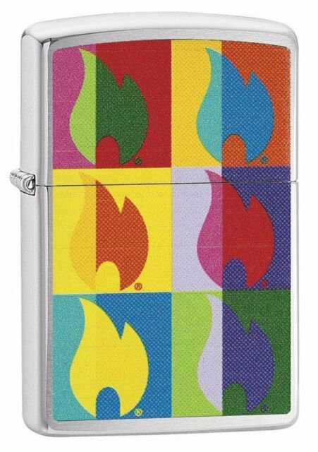 Zippo Abstract Flame Design  Windproof Lighter