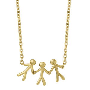 BY BIEHL TOGETHER FAMILY 3 NECKLACE