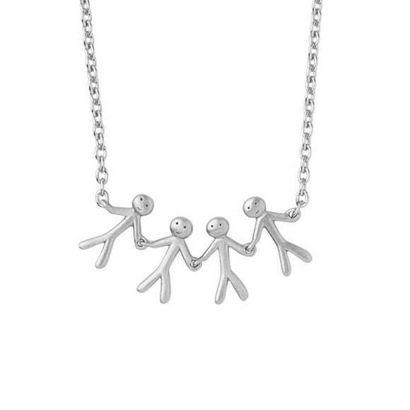 BY BIEHL TOGETHER FAMILY 4 NECKLACE