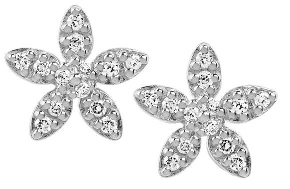 BY BIEHL FORGET-ME-NOT SPARKLE EARRING