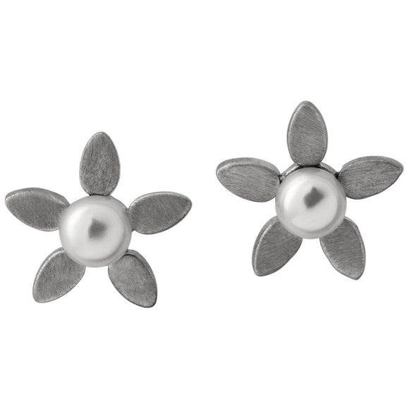 BY BIEHL FORGET-ME-NOT PEARL EARRINGS