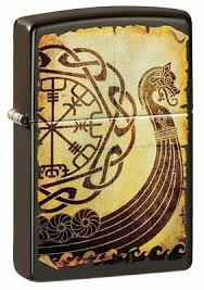 ZIPPO VIKING WAR SHIP LIGHTER
