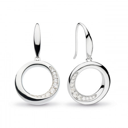 Kit Heath Bevel Cirque CZ Drop Earrings
