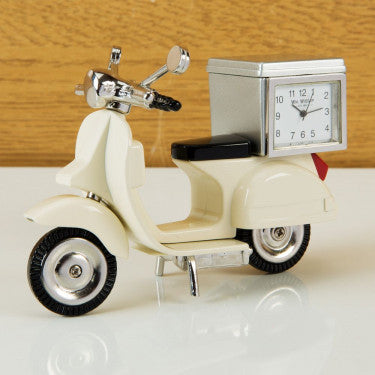Miniature Scooter Clock