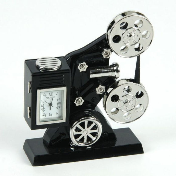 Miniature Film Projector Clock