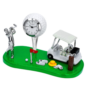 Miniature Golf Theme Clock