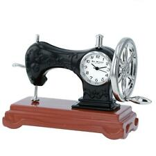Miniature Sewing Machine Clock