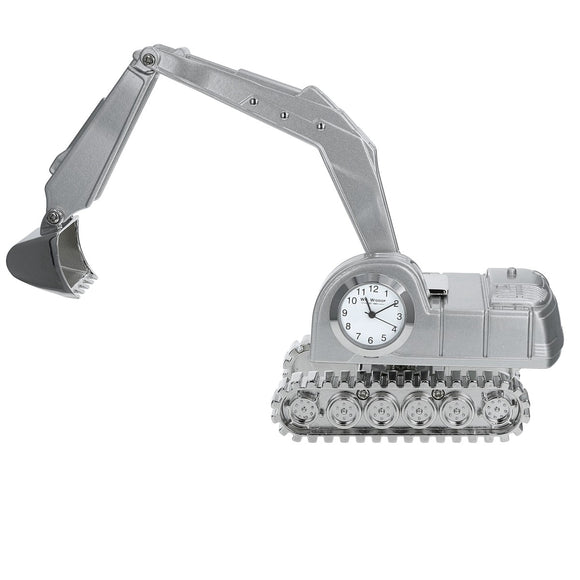 Miniature Excavator Clock