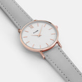 CLUSE Minuit Rose Gold, White, Grey