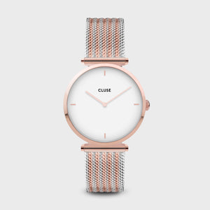 CLUSE Triomphe Rose Gold / Silver Bi-colour