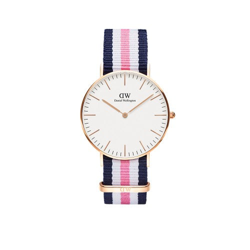 Daniel Wellington - Rose Gold Southampton Nato Strap 36mm Watch