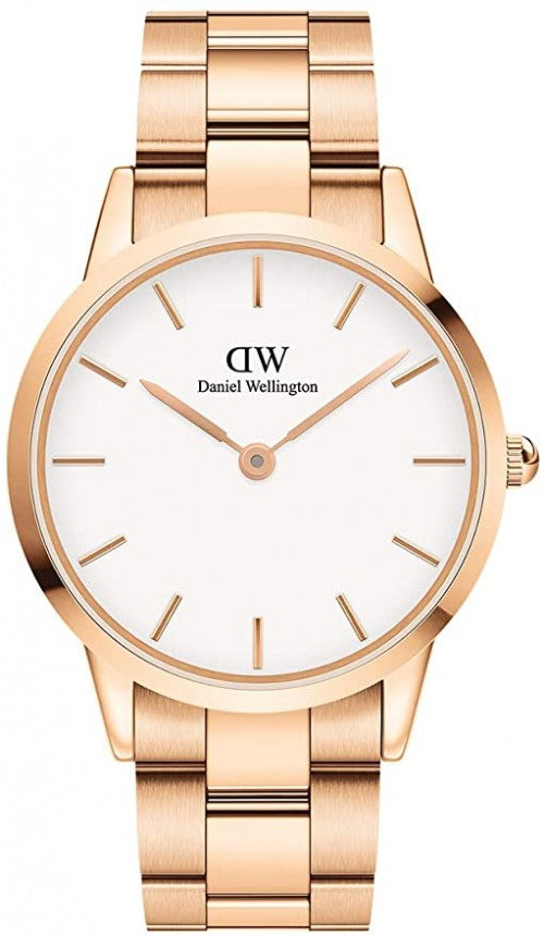 Daniel Wellington - Rose Gold Iconic Link 40mm Watch