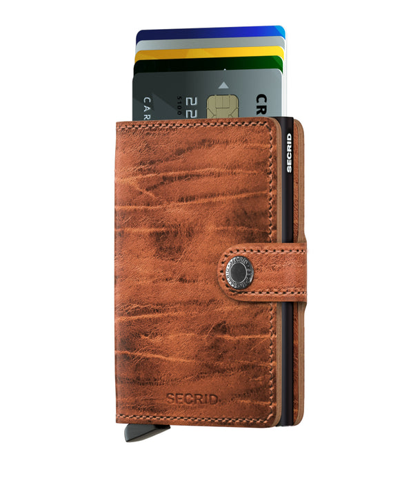 Secrid Miniwallet Dutch Martin Whiskey Leather