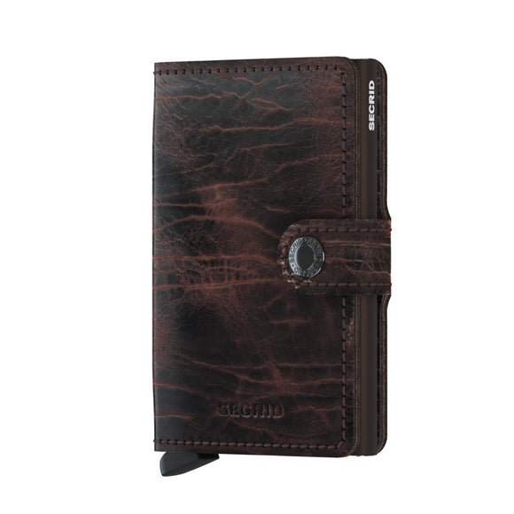 Secrid Miniwallet Dutch Martin Cacao-Brown Leather
