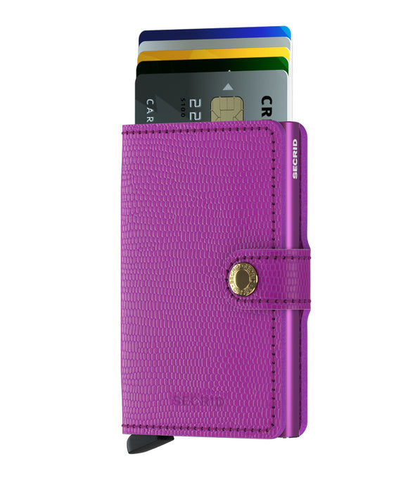 Secrid Miniwallet Rango Violet Leather
