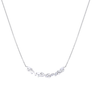 Diamonfire Zirconia Baguette Necklace N4401