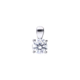 Diamonfire CZ 4-Claw Solitaire Pendant 1.00ct P4919
