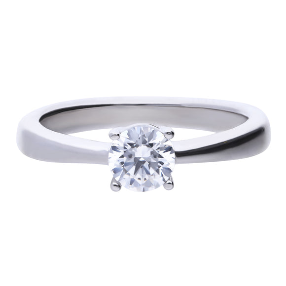 Diamonfire 4-Claw CZ Solitaire Ring 0.75ct R3751