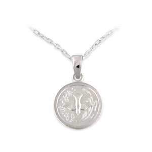 Sterling Silver Small Confirmation Medal