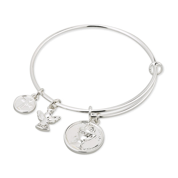 Silver Plated Communion Bangle