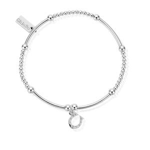 ChloBo Sterling Silver Cute Mini Horseshoe Bracelet