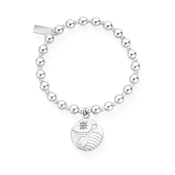 ChloBo Sterling Silver Wavering Influence Bracelet