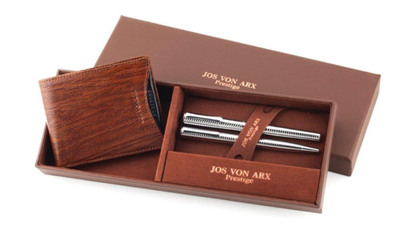 Jos Von Arx  Wallet & Pen Set
