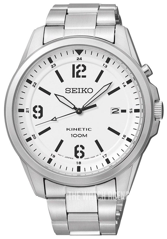 SEIKO KINETIC GENTS BRACELET WATCH