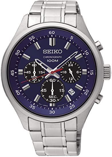 SEIKO QUARTZ CHRONOGRAPH GENTS  BRACELET WATCH
