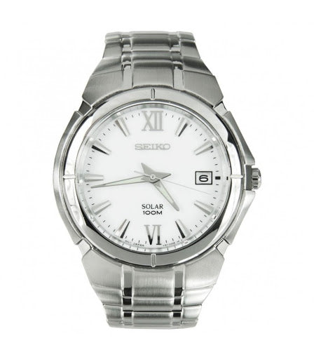 SEIKO GENTS SOLAR BRACELET WATCH