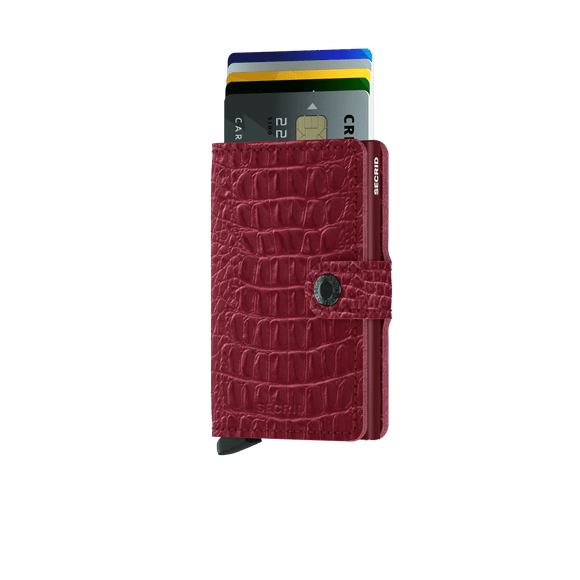 Secrid Miniwallet Nile Ruby  Leather
