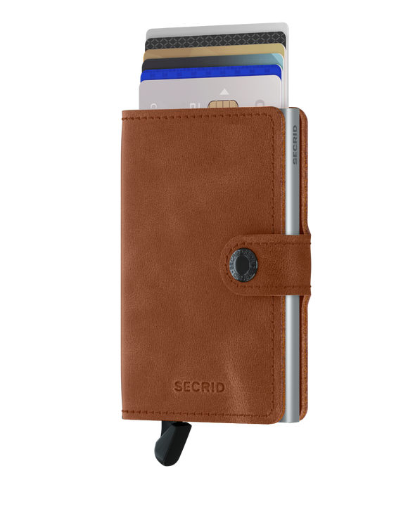 Secrid Miniwallet Vintage Cognac Leather