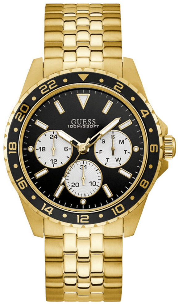 GUESS Odyssey Gold Tone Steel Watch.
