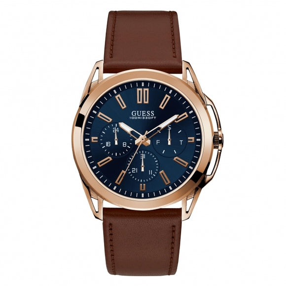 GUESS Vertex Rose Gold Tone Watch