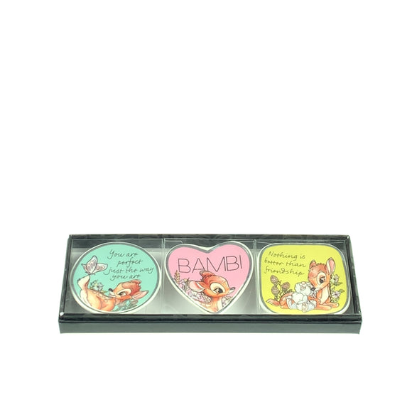 Disney Bambi 3pc Boxed Trinket Tray Set