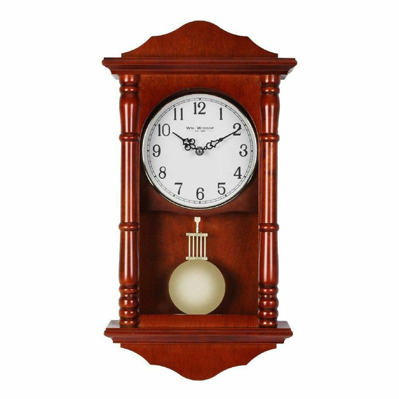Widdop Wooden Quartz Wall Clock