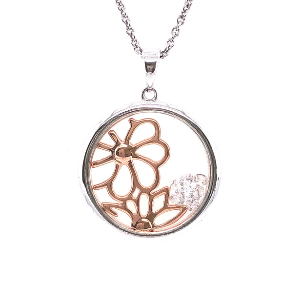 ASTRA Sterling Silver Spring Pendant
