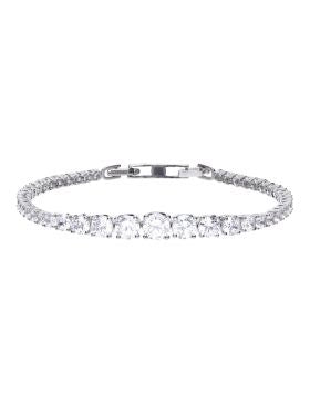 Diamonfire Zirconia Graduated Tennis Bracelet