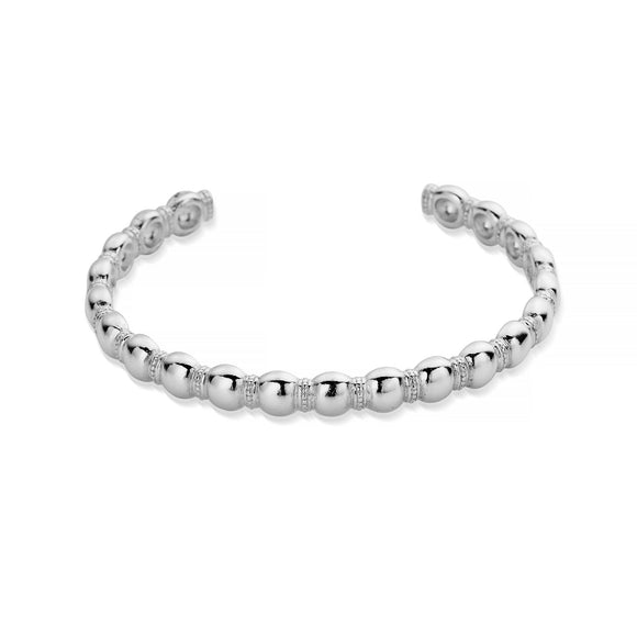 ChloBo Sterling Silver Entwined Fate Bangle