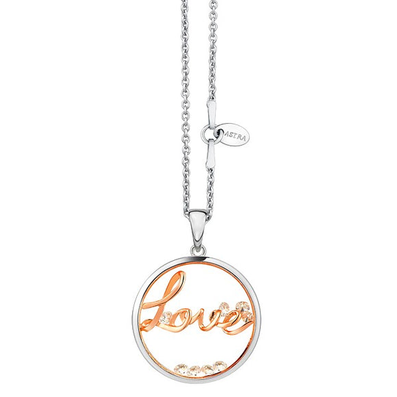 ASTRA Sterling Silver Continuous Love Pendant