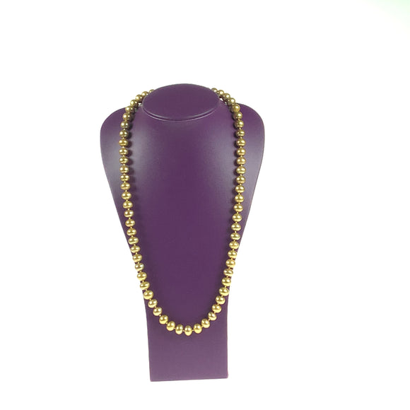 Golden Freshwater Cultured Pearl Necklace