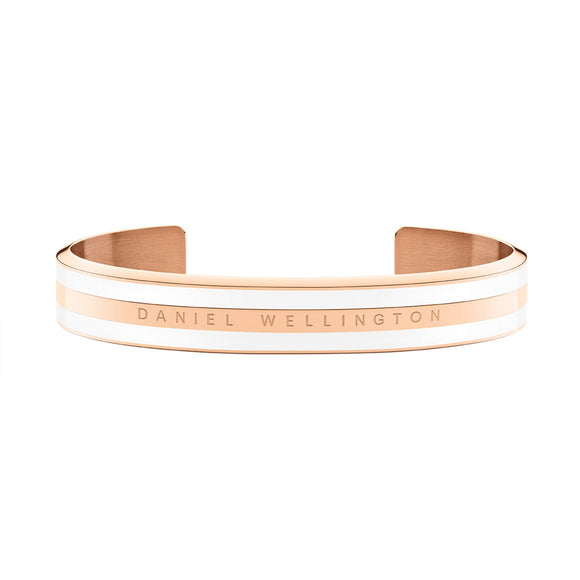 Daniel Wellington - Satin White Rose Gold Bracelet