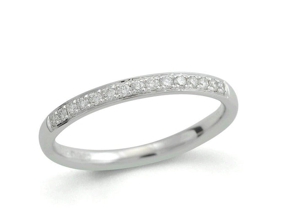Diamond Pavé set 0.16ct Wedding Band
