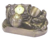 Bronze GAA Football Gear Bag Clock